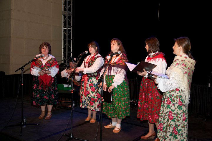 Dolina Polish Folk Dancers choir at Festival of Nations in St. Paul, Minnesota