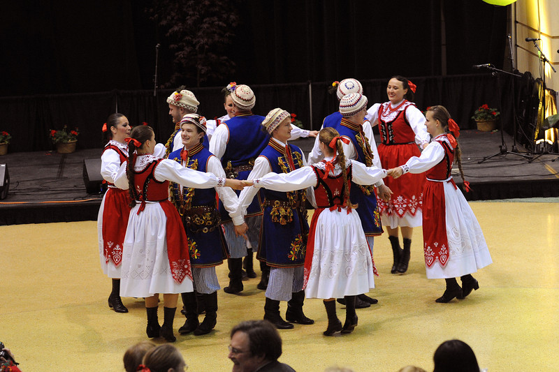 Dolina Polish Folk Dancers at the Festival of Nations in St. Paul, Minnesota