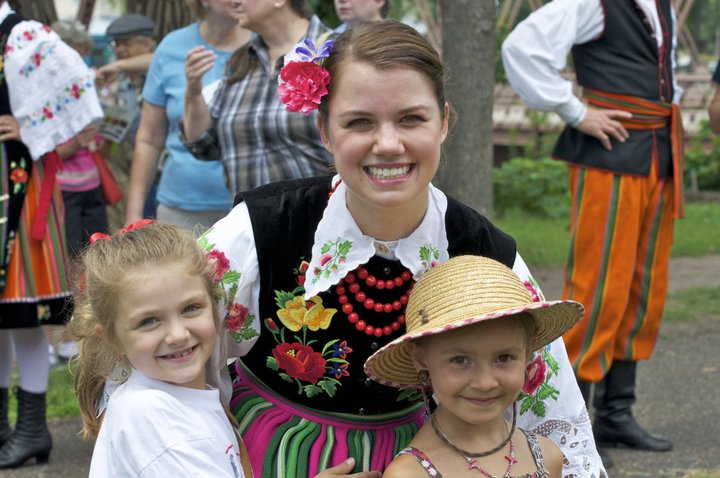 Dolina Polish Folk Dancers at the Twin Cities Polish Festival in Minneapolis