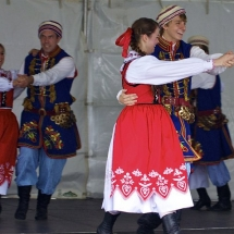 Dolina Polish Folk Dancers perform at the Twin Cities Polish Festival in Minneapolis