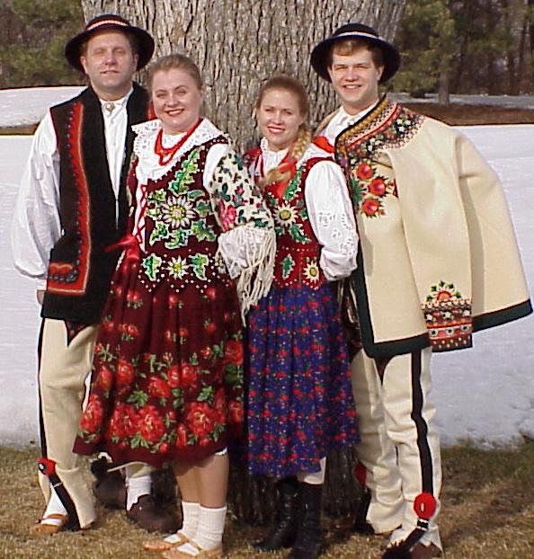 Dolina Polish Folk Dancers in Podhale/Gorale costumes