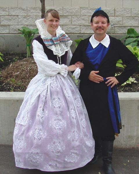 Dolina Polish Folk Dancers in Zywiec City costumes